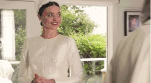 wedding dress miranda kerr melbourne s exhibition will include miranda kerr s