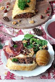 cuisiner la chataigne wellington farci aux châtaignes aux chignons et aux épinards