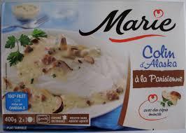 cuisiner du colin surgelé colin d alaska à la parisienne surgelé 400 g