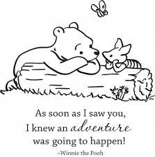 knew adventure happen winnie