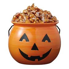 amazon com dii ceramic jack o lantern halloween candy bowl for