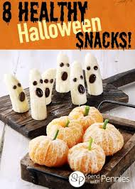 8 healthy halloween snacks for kids spend with pennies