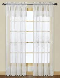 Embroidered Curtain Panels Marianna Sheer Embroidered Curtains By United Curtains View All