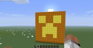 huge creeper jack o u0027 lantern minecraft project