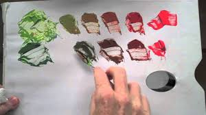 pink complimentary color colour wheel red u0026 green complementary colour mixing basics youtube
