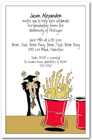 college invitations college party invitation wording pong graduation party