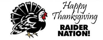 happy thanksgiving from the raiders