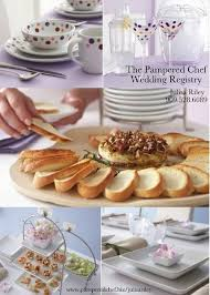 bridal registry gifts the pered chef wedding registry favors gifts redlands