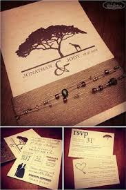 wedding invitations south africa safari wedding invitation search endangered animal