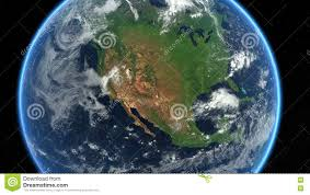 america map zoom usa from space earth zoom america us stock footage