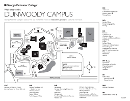Gatech Campus Map Dunwoody Campus Map Campus Maps Pinterest