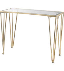 Gold Console Table Sterling 351 10259 Ivy Chase 39 X 17 Inch Gold Console Table Home