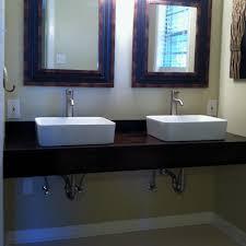 Diy Floating Vanity With Vessel Sinks Home Ideas Pinterest Diy - Bathroom vanity for vessel sink 2