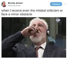 First World Problems Meme Creator - slobodan praljak s courtroom suicide know your meme