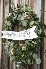 wedding wreath top 22 greenery diy wedding wreath ideas worth stealing
