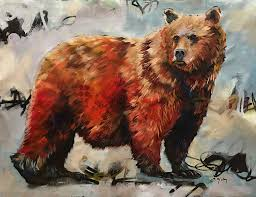 brother bear 36x48 canvas painted elli u0026 john milan original