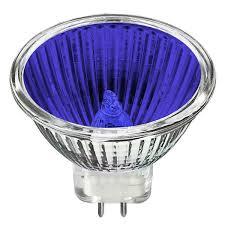 bulbrite 637120 20 watt mr11 blue 12 volt