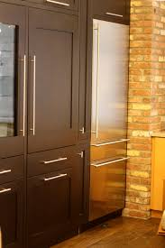 cabinets like how fridge has same handle kitchens pinterest