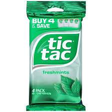 tic tac tic tac fresh mint 4 ct walmart