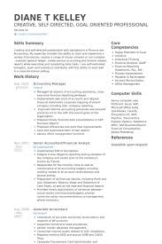 Sample Resume For Accounting Job by Accounting Resume Samples Visualcv Resume Samples Database