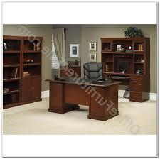 sauder heritage hill bookcase sauder heritage hill double pedestal desk desk interior design