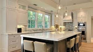 large kitchen with island picturesque how to set up a kitchen layout virily large