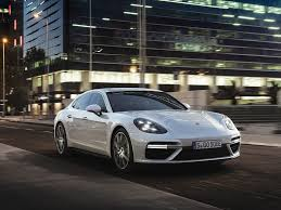 green porsche 2018 porsche panamera turbo s e hybrid ups the green game with 680