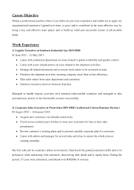 Sales Executive Resume Samples by Corporate Sales Executive Resume Sample Resume For Sales Manager
