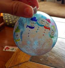 time to get started step diy snowmen handprint