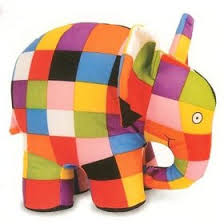 Elmer The Patchwork Elephant Story - png zoo colors search color code