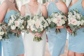 bridesmaid dresses richmond va light blue southern bridesmaids dresses and bouquets shirley