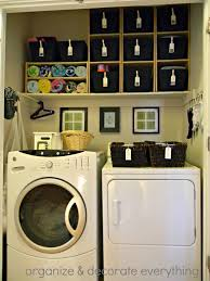small laundry room decorating ideas simple laundry room in closet