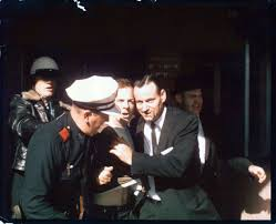 an end to conspiracy rare photo of lee harvey oswald u0027s arrest