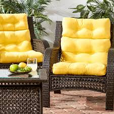 Yellow Patio Chairs Greendale Home Fashions Outdoor High Back Chair