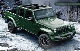 jeep truck spy photos new spy shots show 2020 jeep wrangler pickup with production ready