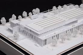 cuisine centrale blagnac maquette concours mad maquette architecture designmad maquette