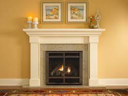 amazing cream color granite fireplace hearth and combine with white color mantlepiece also cream color granite