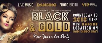 new years party in san diego black gold new year s party maritime museum of san diego