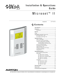 microset ii installation u0026 operators manual ltbt tm mset2 documents