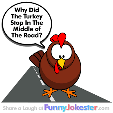 turkey in the road joke