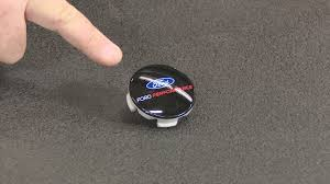 mustang center caps 2015 2017 mustang ford performance wheel center cap black w logo