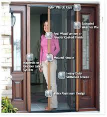Patio Door Magnetic Screen Patio Doors With Screens For Screen Patio Door 57 Patio Door