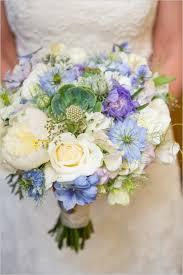 wedding flowers blue and white sweetly blue and white wedding white wedding bouquets