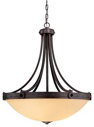 Bowl Pendant Light Fixtures Savoy House Elba Bowl Pendant Light In Copper Traditional