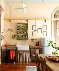 small country kitchens kitchen shabby chic style with gallery wall