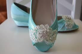 light blue wedding flats lace wedding shoe wedge choose from over 200 colors aqua