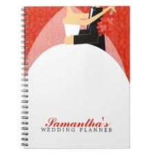 custom wedding planner wedding planner notebooks journals zazzle
