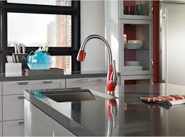 Delta Brushed Nickel Kitchen Faucet Kitchen Kitchen Sinks And Faucets Delta Faucets Delta Fuse
