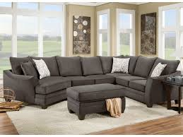 Sectional Sofa With Bed by American Furniture 3810 Sectional Sofa That Seats 5 With Left Side