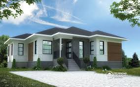 modern home plan beautiful 3 bedroom bungalow with open floor plan by drummond